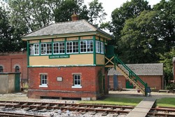 Signal Boxes - Filming at the Bluebell Railway