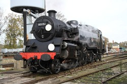 Locomotives - Filming at the Bluebell Railway